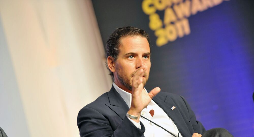 Hunter Biden attends Usher's New Look Foundation - World Leadership Conference & Awards 2011 - Day 3 at Cobb Energy Center on July 22, 2011 in Atlanta, Georgia