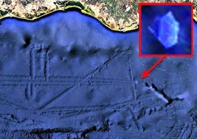 Alien Base With Crystal UFO or USO Under Ocean Off Mexico Coast, UFO Sighting News