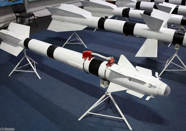 R-73 short-range air-to-air missile