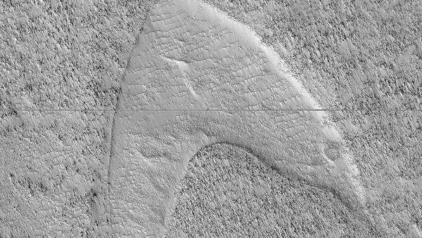 Dune Footprints in Hellas - Sputnik International