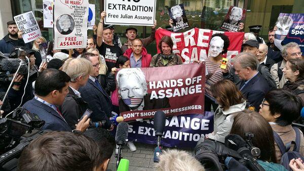 Julian Assange supporters. London. 14.06.2019 - Sputnik International