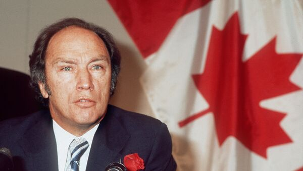 Canadian Prime Minister Pierre Elliott Trudeau - Sputnik International