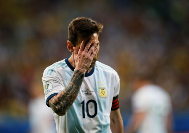 The captain of the Argentina national football team, Lionel Messi