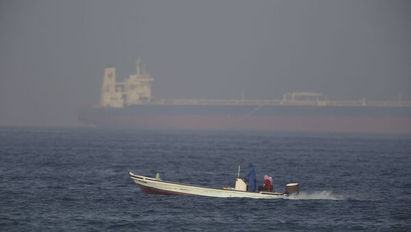 The Kokuka Courageous, one of two oil tankers targeted in an apparent attack in the Gulf of Oman - Sputnik International
