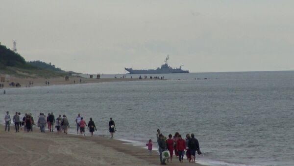 Landing ship Gniezno from Poland suffered damage during Baltops 2019 - Sputnik International