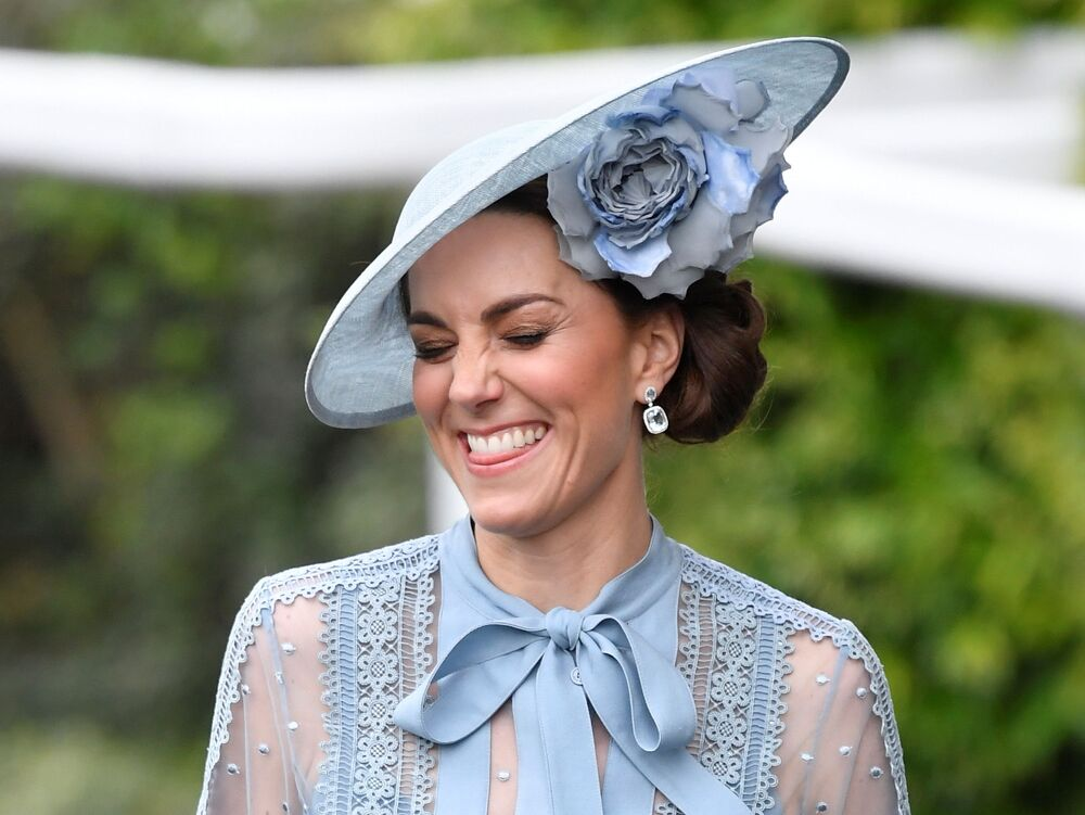 Britain's Catherine, Duchess of Cambridge at Ascot