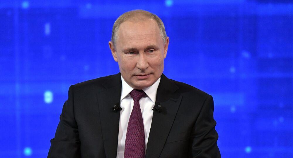 Direct Line with Vladimir Putin 2019