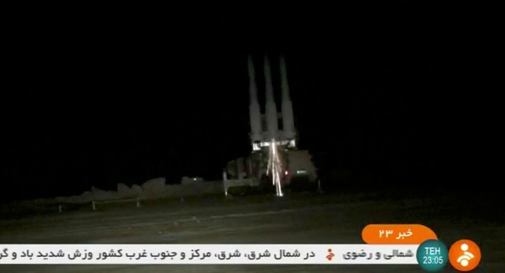A 3 Khordad system, which is said to had been used to shoot down a U.S. military drone, according to IRINN, is being launched in this screen grab taken from an undated video