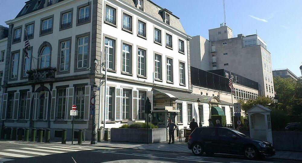 American embassy buildings, Brussels
