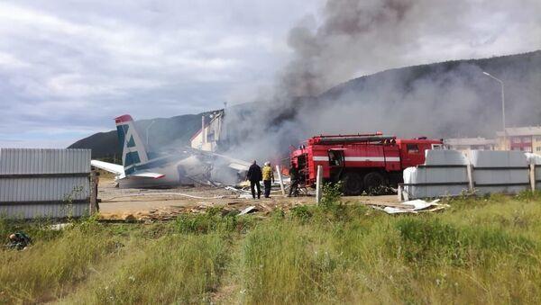 An-24 Crash in Buryatia, Russia - Sputnik International