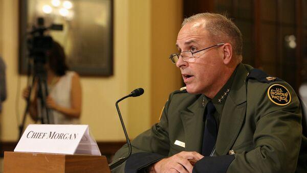 Mark Morgan First Hearing as USBP Chief with CBP - Sputnik International