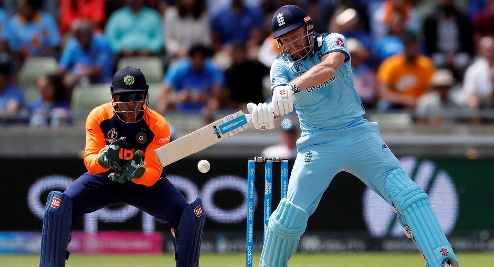 Cricket - ICC Cricket World Cup - England v India - Edgbaston, Birmingham, Britain - June 30, 2019 England's Jonny Bairstow in action