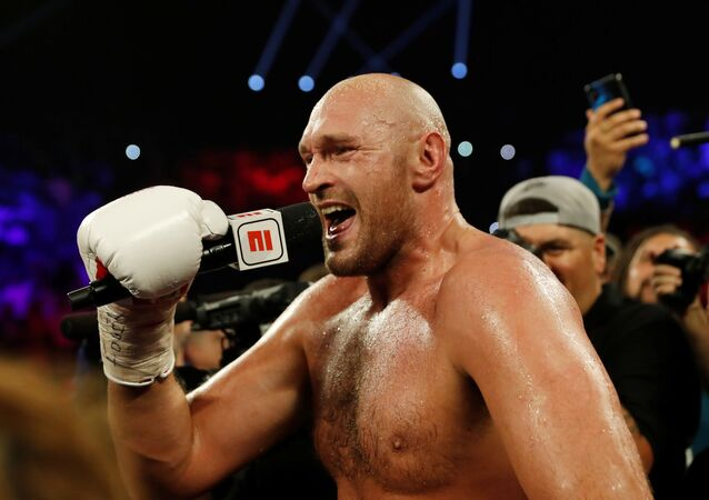 Boxing - Tyson Fury v Tom Schwarz - Heavyweight Fight - MGM Grand Arena, Las Vegas, United States - 15 June 2019
