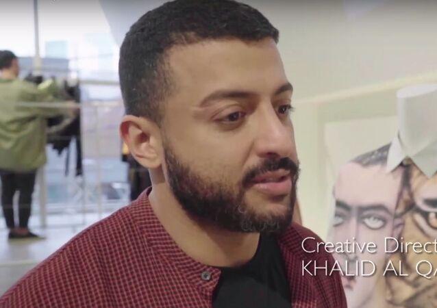 Khalid Al Qasimi interview with Fashion Tsushin