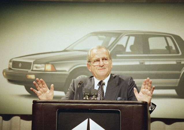 Chrysler Corp. Chairman Lee Iacocca