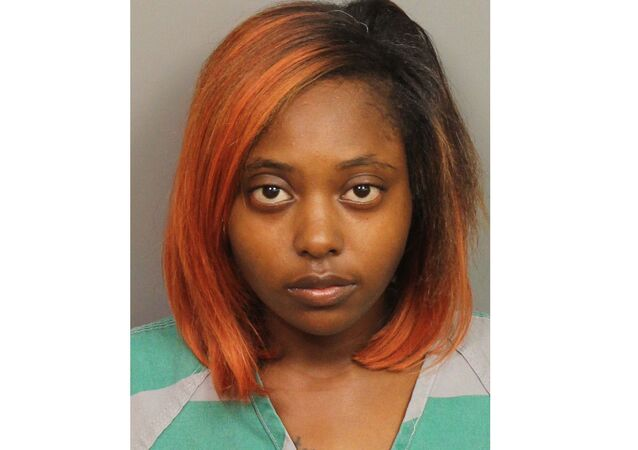This file photo provided by Jefferson County Sheriff's Office shows Marshae Jones. Lawyers defending Jones, who was arrested last week after a grand jury issued an indictment saying she intentionally caused the death of her fetus by initiating a fight while five-months pregnant, said Monday, July 1, 2019, the charges are completely unreasonable and unjust and should be dismissed.