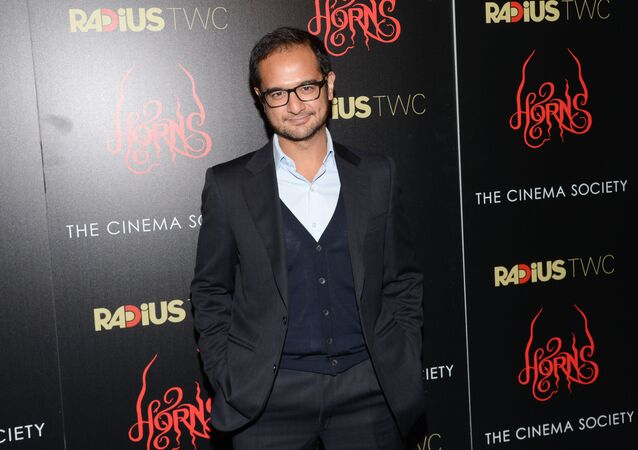Producer Riza Aziz attends the premiere of Horns at The Landmark Sunshine Theater on Monday, Oct. 27, 2014 in New York