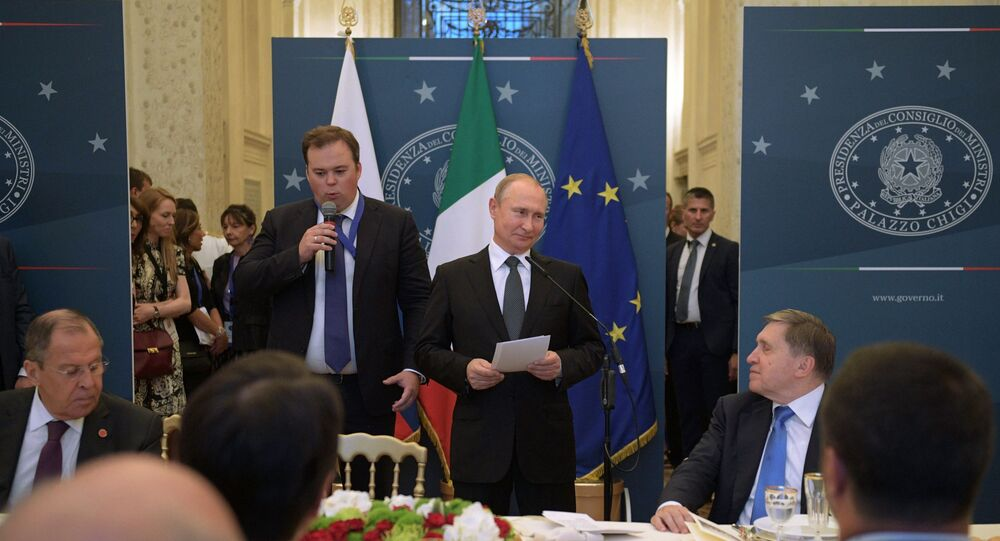 Official Visit of Russian President Vladimir Putin to Italy, 4 July 2019