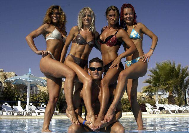 Slovakia's national fitness team