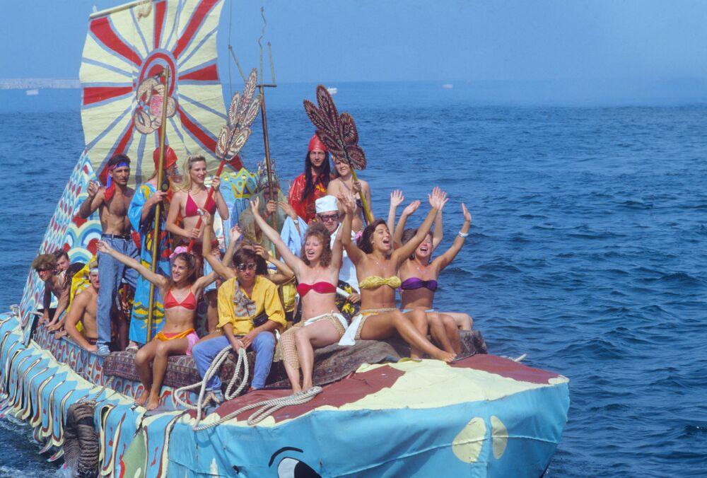 Neptune's Day Celebration in Sevastopol