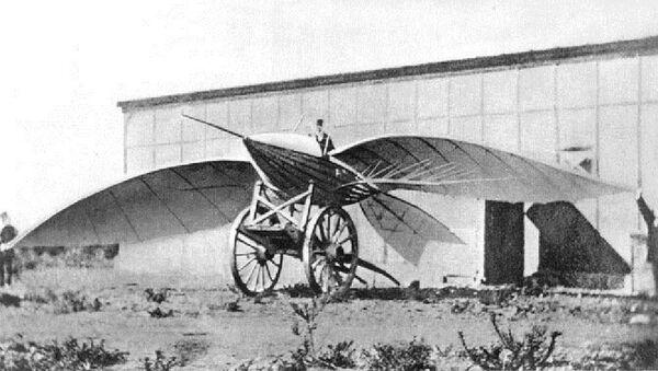Jean-Marie Le Bris and his flying machine, Albatros II, 1868 - Sputnik International