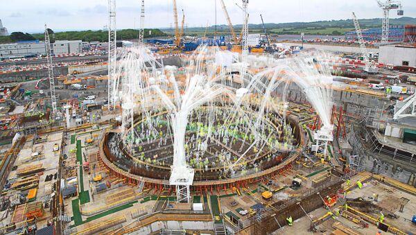 Construction work at Hinkley Point C - Sputnik International