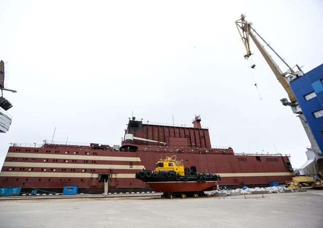 World's first floating nuclear power plant (NPP) Akademik Lomonosov