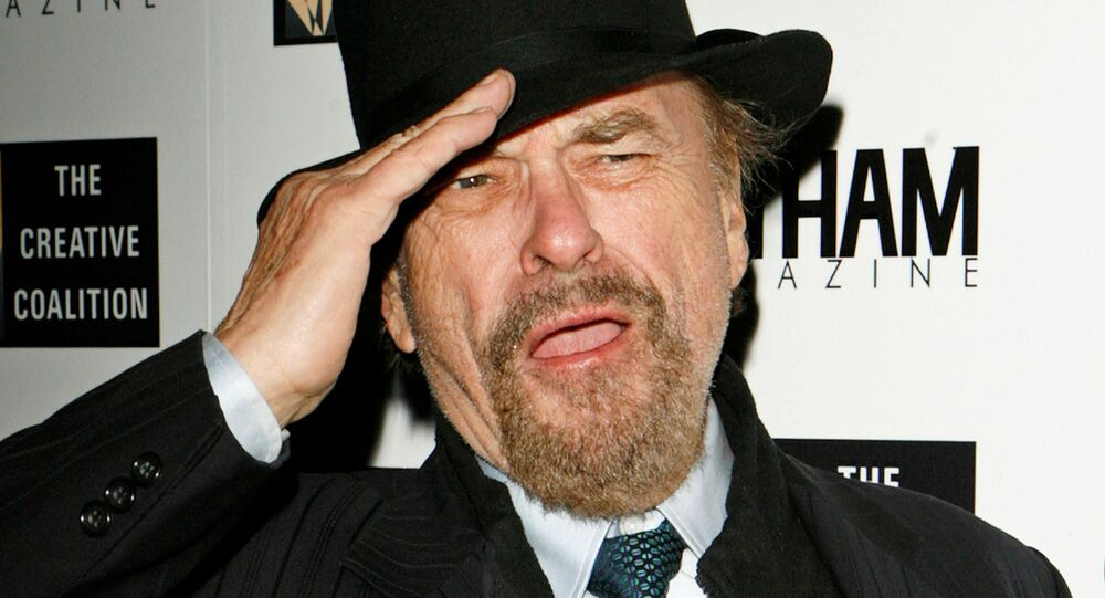 Actor Rip Torn arrives to attend a Creative Coalition Awards Gala held to honor individuals for their commitment to champion social welfare issues in New York December 18, 2006