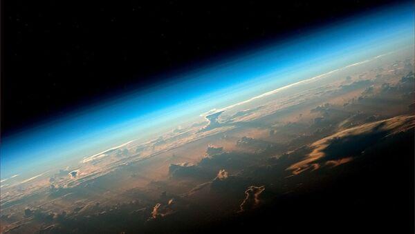 View of Earth from an ISS board - Sputnik International
