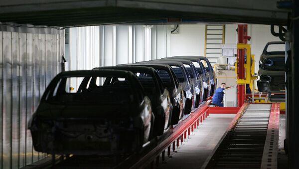 Kaliningrad factory - Sputnik International