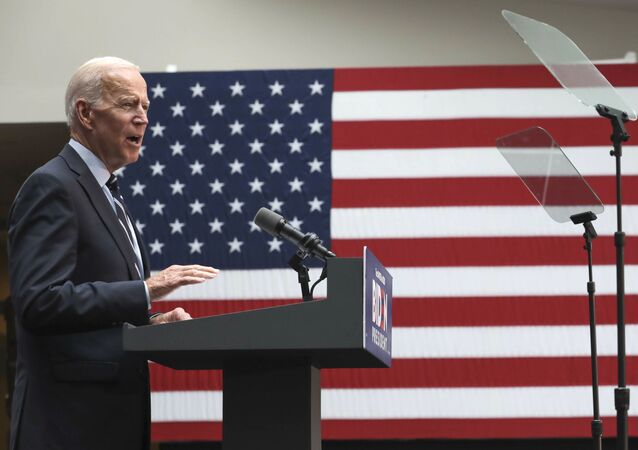 Democratic presidential candidate former Vice President Joe Biden speaks about foreign policy at The Graduate Center at CUNY, Thursday July 11, 2019, in New York