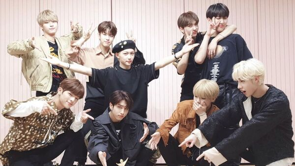Stray Kids K-pop boys band receives Rookie of the Year award - Sputnik International