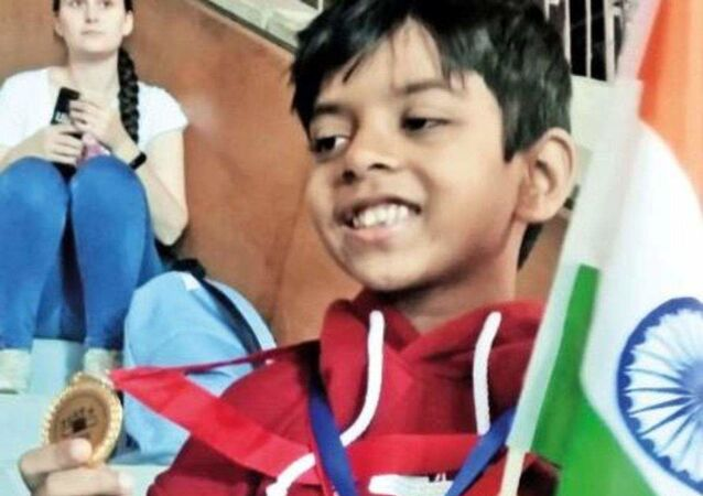 Aronyatesh Ganguly 8-year-old cancer survivor bags gold in Moscow