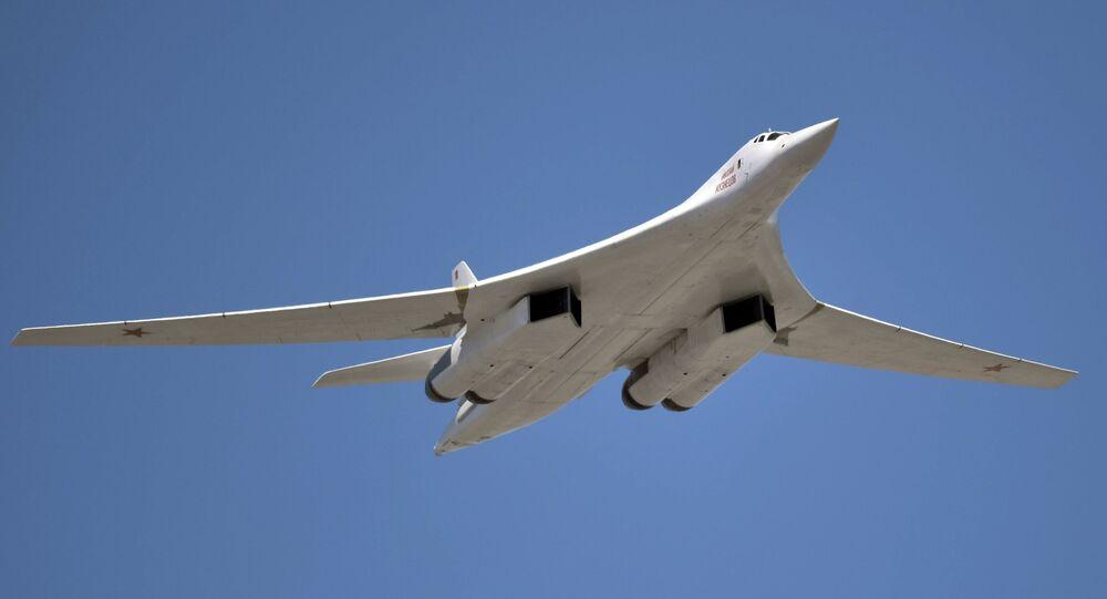 Tupolev Tu-160 Blackjack strategic bomber