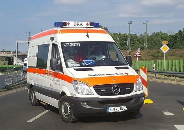 German  ambulance