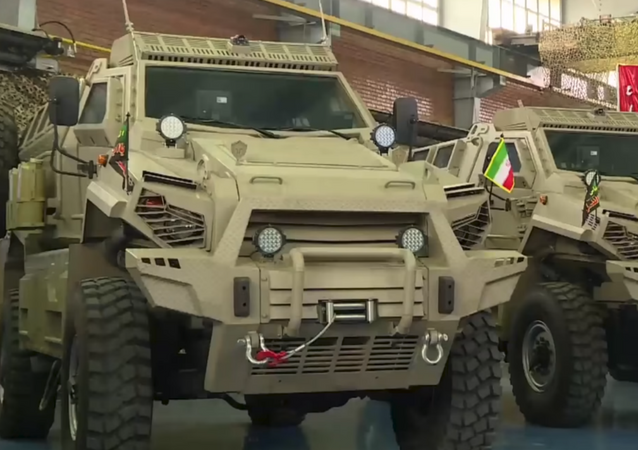 Iran's infantry high mobility vehicle Toofan