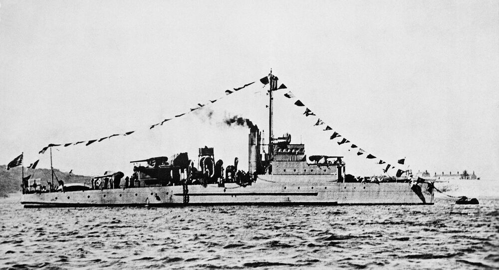 This undated photo provided by the U.S. Navy shows an Eagle class patrol boat built during World War I. It is similar to the USS Eagle PE-56, which exploded and sank off Cape Elizabeth, Maine, on April 23, 1945, killing most of its crew in New England's worst naval disaster during World War II.