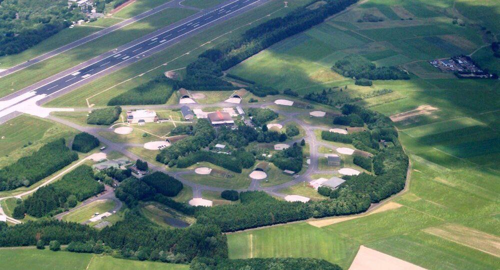 Aerial photograph of Büchel Air Base