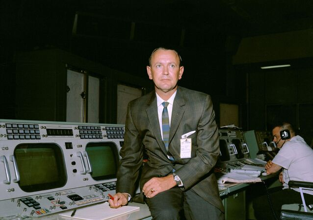 Christopher C. Kraft, Jr., who died July 22, 2019, created the concept of NASA's Mission Control and developed its organization, operational procedures and culture, then made it a critical element of the success of the nation's human spaceflight programs.