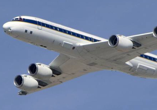 NASA Jetliner Spotted Flying at Low Altitude Over California City