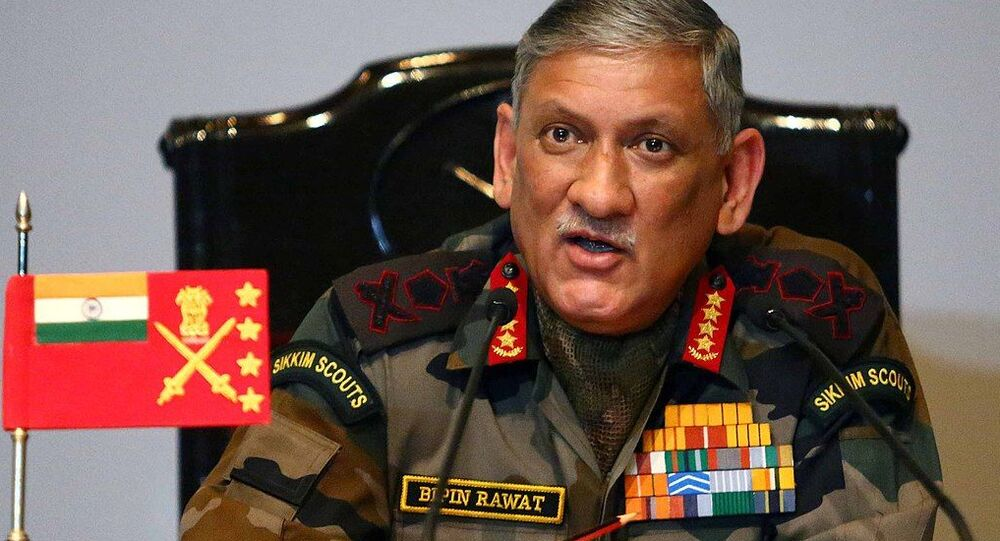 The Chief of Army Staff, General Bipin Rawat
