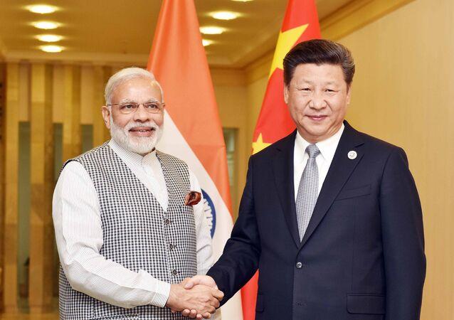 PM Modi with Chinese President Xi Jinping