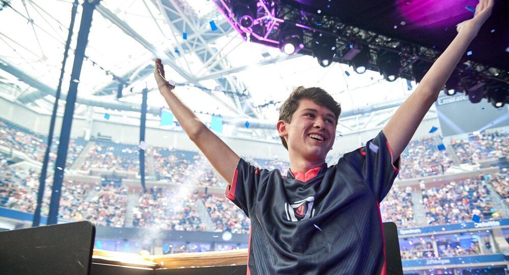 American teenager Kyle Giersdorf, 16, won $3 million on Sunday in New York  in Fortnite Tournament