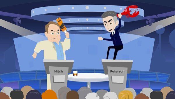 Christopher Hitchens vs. Jordan Peterson - Sputnik International