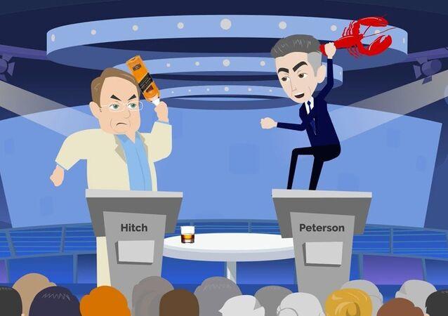 Christopher Hitchens vs. Jordan Peterson