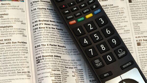 Television remote  - Sputnik International