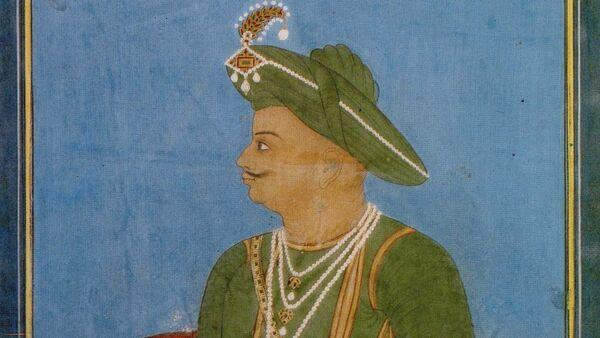 Portrait of Tipu Sultan by an anonymous Indian artist in Mysore, ca. 1790–1800 - Sputnik International
