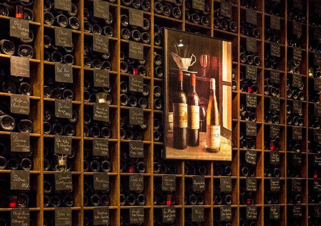 Wall of wine (France through my eyes)