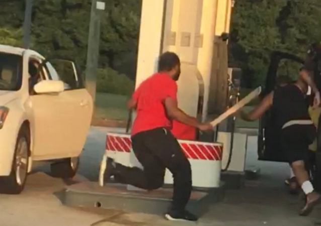 US Man Attacks Driver With Machete in Road Rage Incident