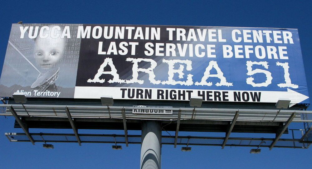 Area 51 - Alien Territory!